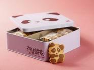 奇华熊猫曲奇礼盒