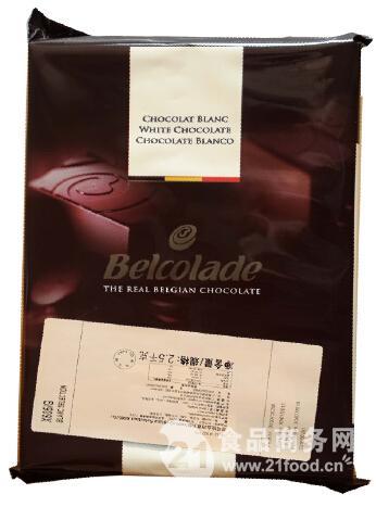 贝可拉白巧克力块X605/G