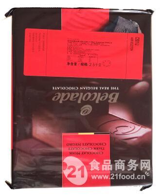 贝可拉黑巧克力块C501/J