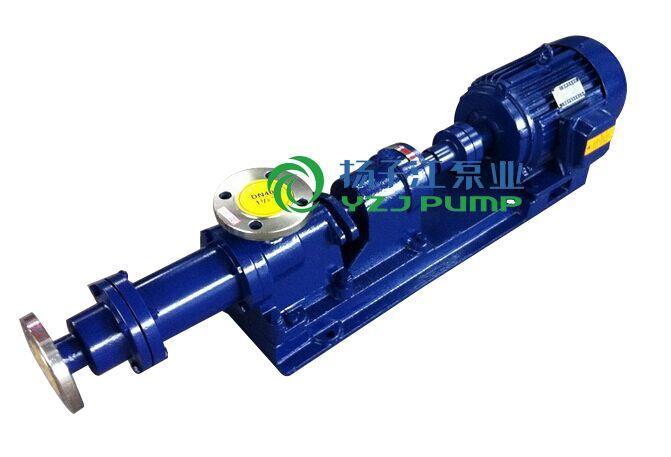 螺杆泵厂家:I-1B型防爆不锈钢浓浆泵