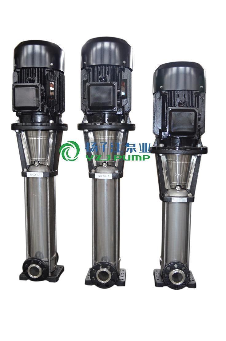 管道泵厂家:qdlf不锈钢热水泵|立式多级热水增压泵图片