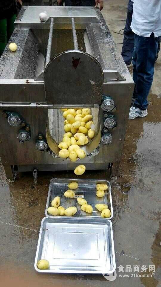 红薯去皮机功能