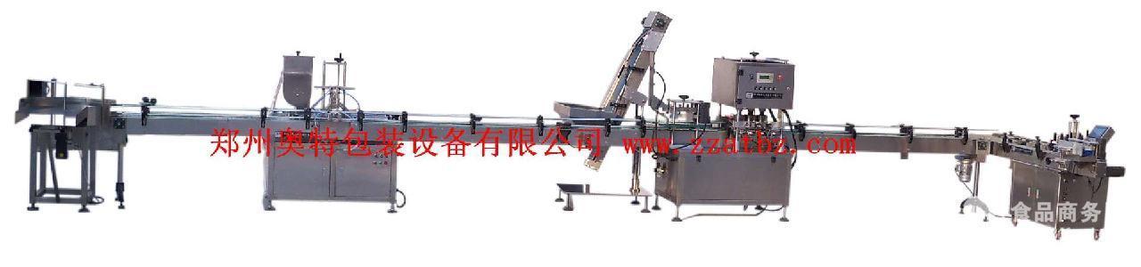 厂家直供辣椒酱、颗粒香菇酱灌装生产线
