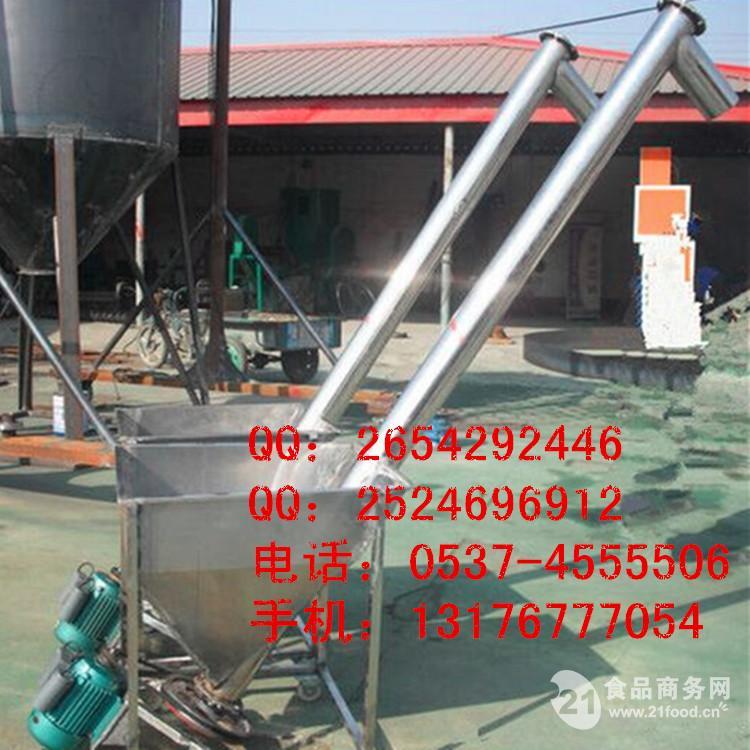 高效粮食螺旋提升机 玉米面粉提升机M5