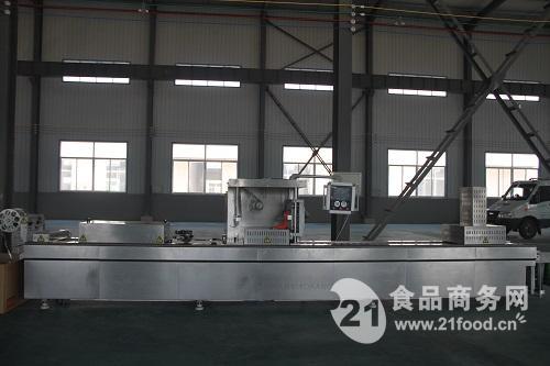 厂家供应小康牌DLZ-420D型全自动连续拉伸真空包装机