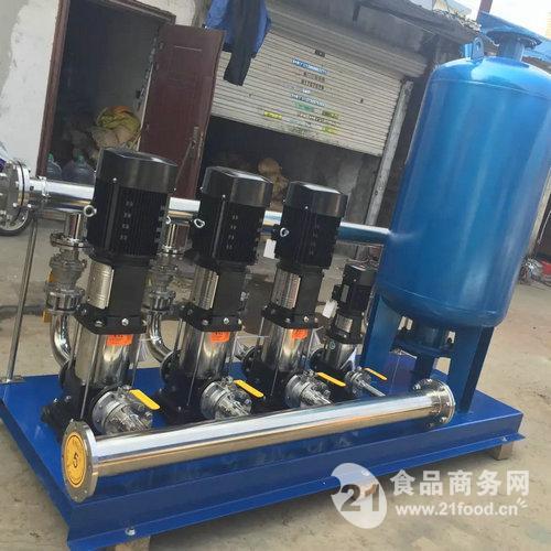 水泵增压控制电路图