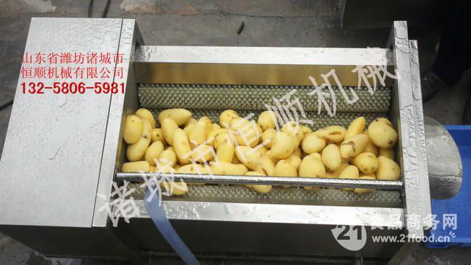 土豆清洗脱皮机  中药材清洗脱皮机