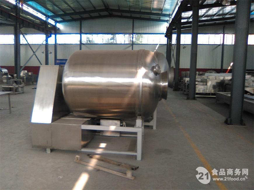 肉类加工必备设备真空滚揉机GR-1000kg得利斯集团