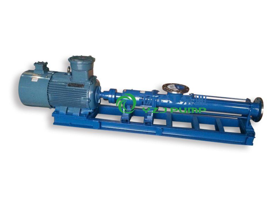 螺杆泵厂家:GF型不锈钢卫生级单螺杆泵