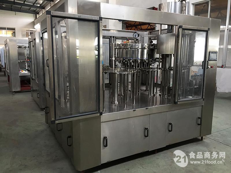饮料生产线碳酸饮料灌装机