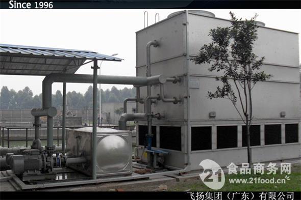 1100吨大温差封闭式冷却塔