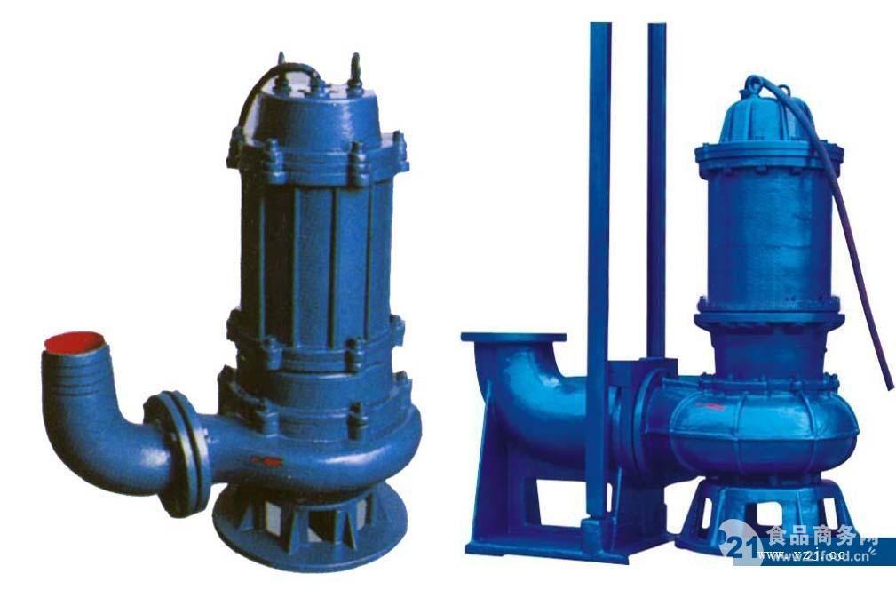 排污泵厂家:WQ型潜水无堵塞排污泵
