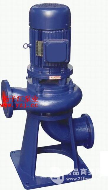 排污泵厂家:LW立式无阻塞排污泵