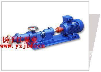 螺杆泵厂家:I-1B型不锈钢浓浆泵