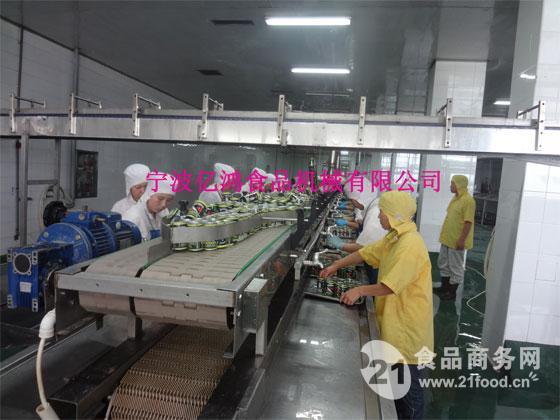 茄汁鱼罐头生产线全套设备