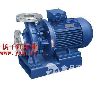 化工泵厂家:ISWH化工不锈钢管道泵|卧式化工泵