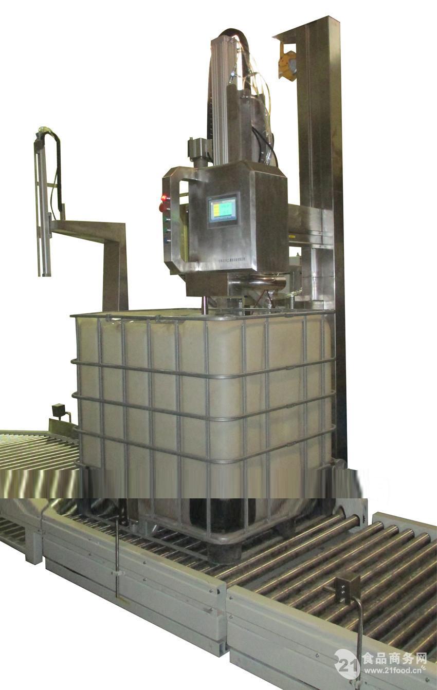 简介:吨桶灌装机,ibc桶灌装机液态计量灌装设备