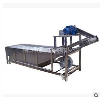 豪联牌HLXQ-3000优质不锈钢式全自动荔枝清洗机