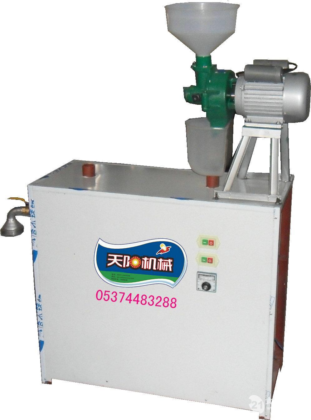 大米自动磨浆榨米线机