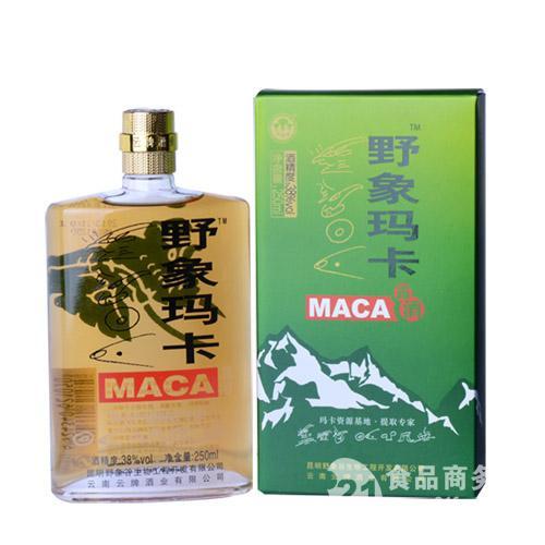 野象玛卡玛咖酒250ml