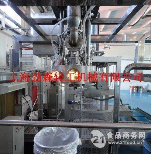 上海劲森150吨/天番茄酱、果酱生产线