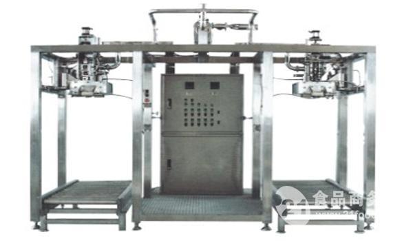 上海劲森轻工食品机械无菌大袋灌装机,果酱、番茄酱灌装