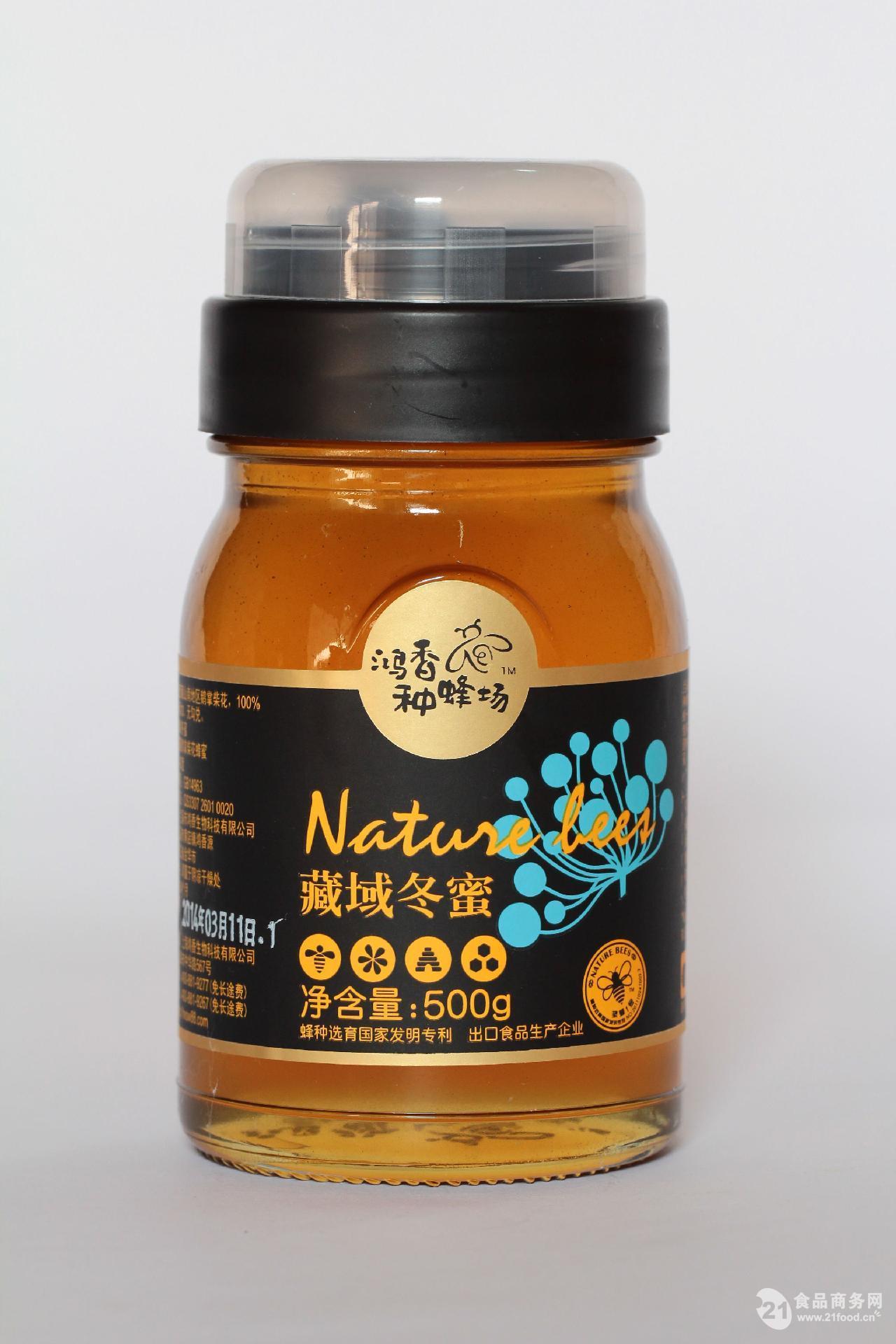 鸿香种蜂场 藏域冬蜜 500g*20瓶