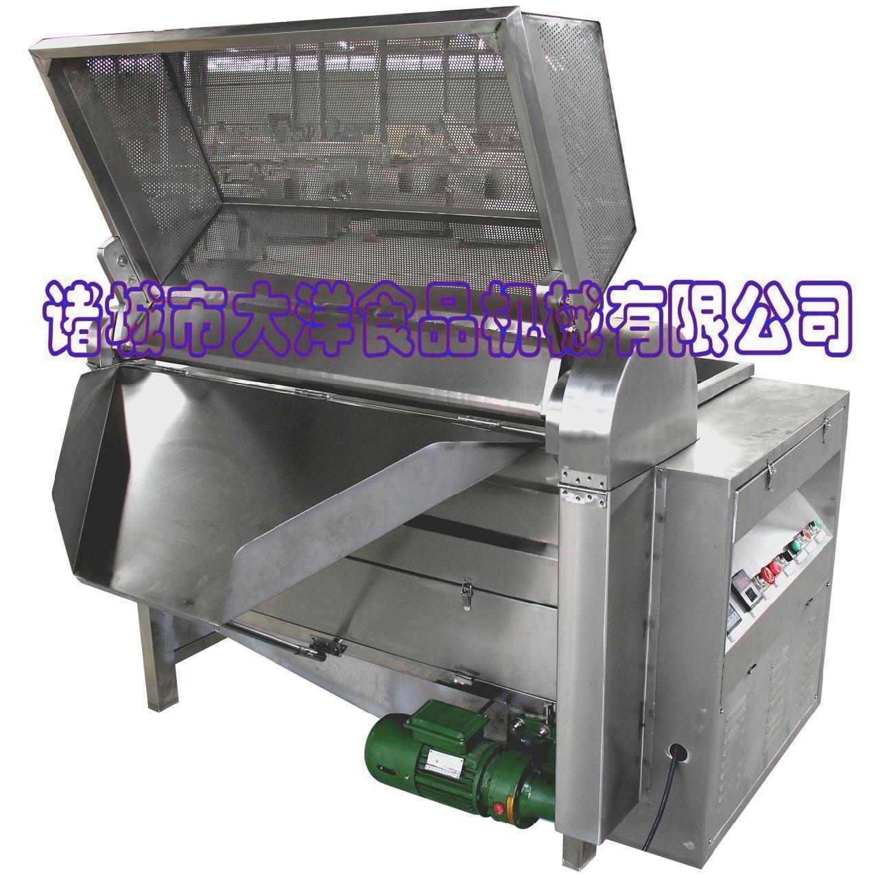 电加热蔬菜漂烫机|全钢青菜漂烫机