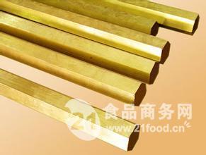 H68六角黄铜棒、C2600黄铜六角棒