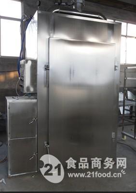 大型蒸煮上色烟熏炉  DZX-500型烧鸡烟熏炉  豆干烟熏炉