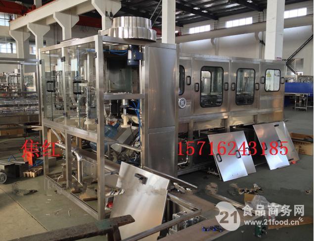 大桶水灌装生产线 五加仑灌装机