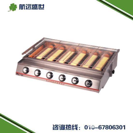 燃氣無煙燒烤爐