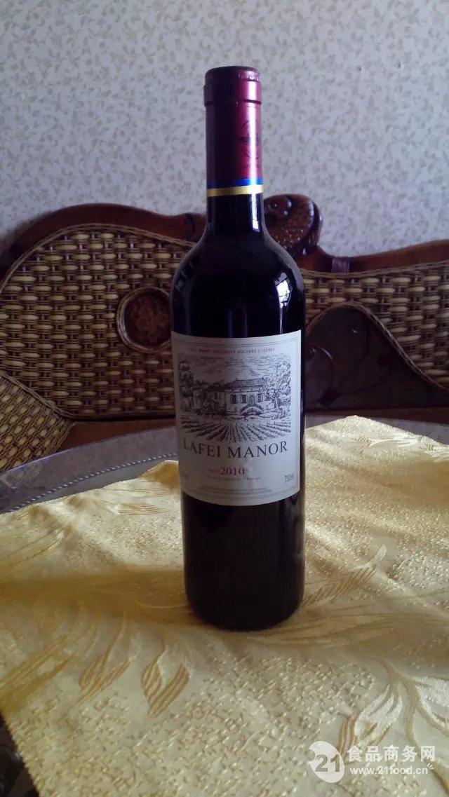 法国红酒 拉菲庄园干红 配专业手袋