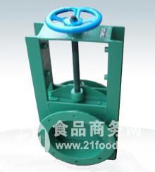 手动圆形插板阀lc-i/lc-ii图片