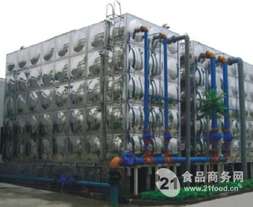 聚力卧式储水箱结构图