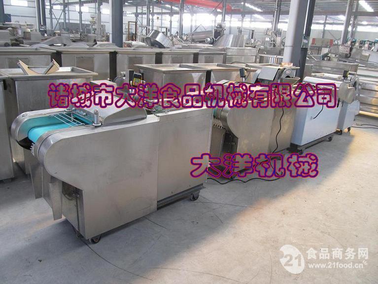 千张切丝机|自动豆腐皮切丝机
