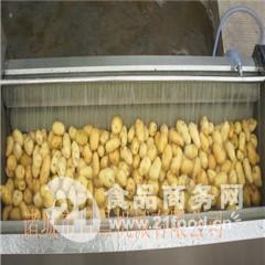 水 萝卜毛辊式清洗机(紫薯加工成套流水线)