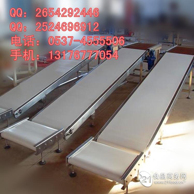 爬坡输送机 各种长度输送机设备