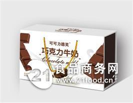 达利至醇巧克力牛奶木盒