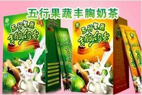 五行果蔬丰胸奶茶价格多少钱