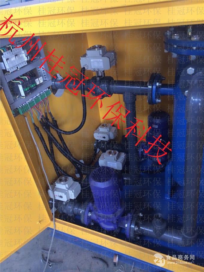二, 冷凝器胶球清洗装置优点:      1,结构设计新颖合理      2,操作