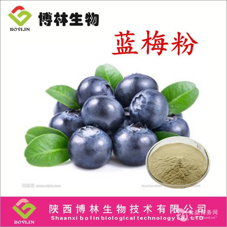 蓝莓提取物 花青素5% 25% 现货包邮