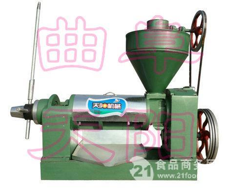黄豆榨油机,豆油压榨机