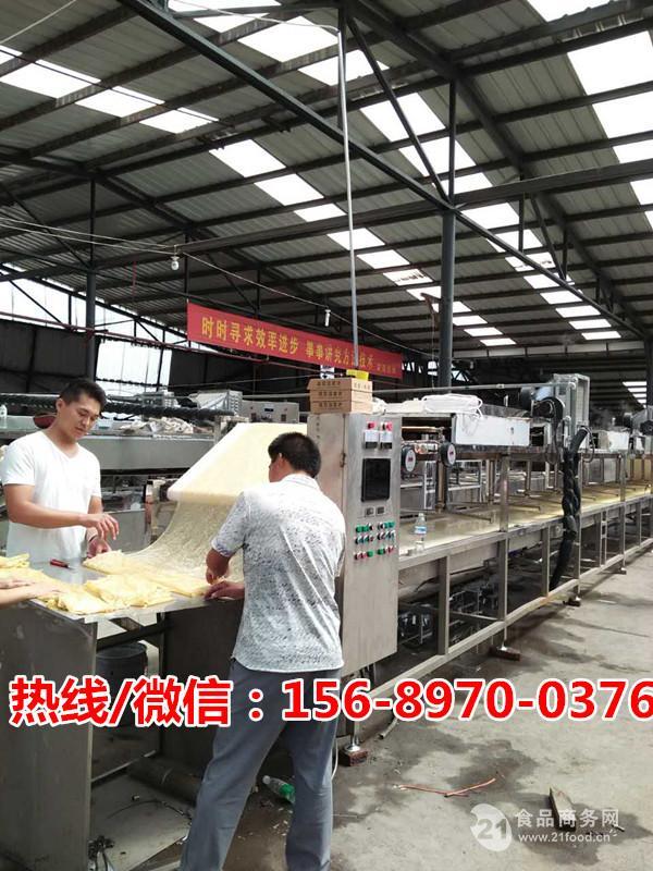 小型自动腐竹机多少钱一台?哪里有卖全自动小型腐竹机械的?
