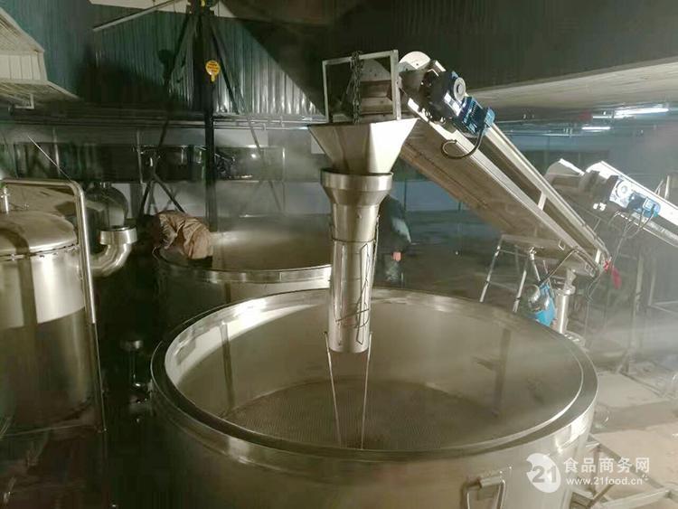 行吊式大型酒厂设备 全自动白酒生产系统