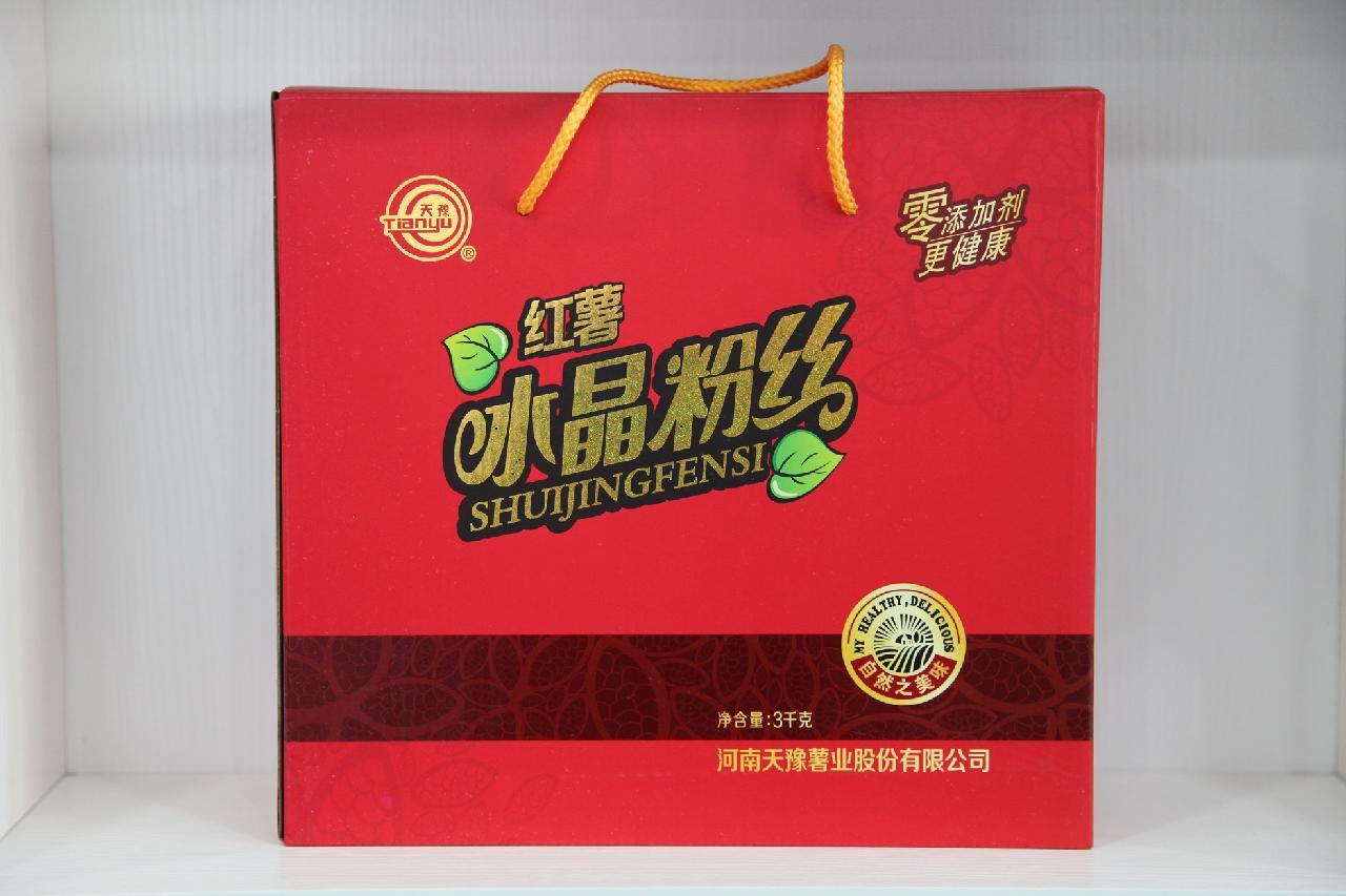 红薯水晶粉丝 2kg、2.7kg、3kg 礼盒
