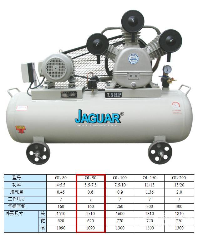 捷豹牌空压机厂家直销空压机永磁变频空压机