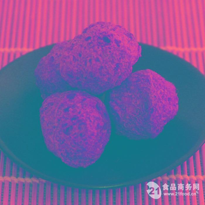 大豆拉丝蛋白圆球状