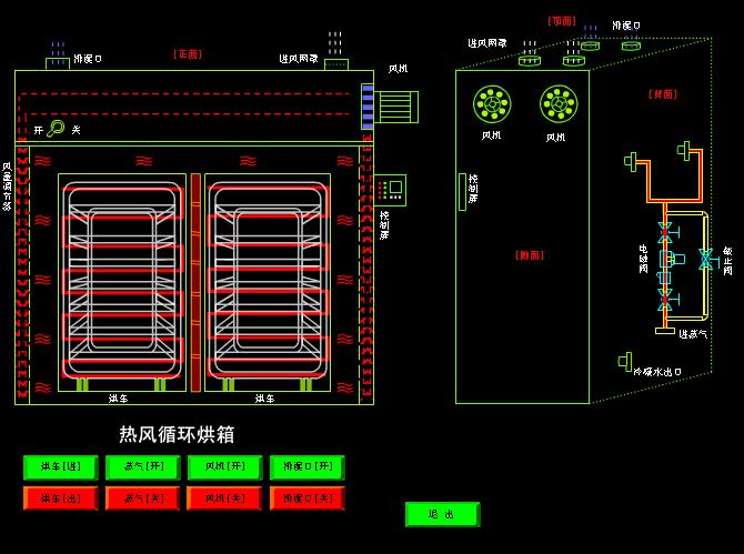 <b>热风循环烘箱平面图_烘箱热风循环烘箱_热风循环烘箱</b>