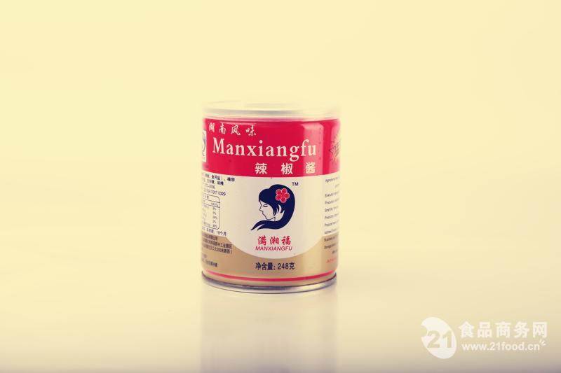 满湘福猛辣酱248克